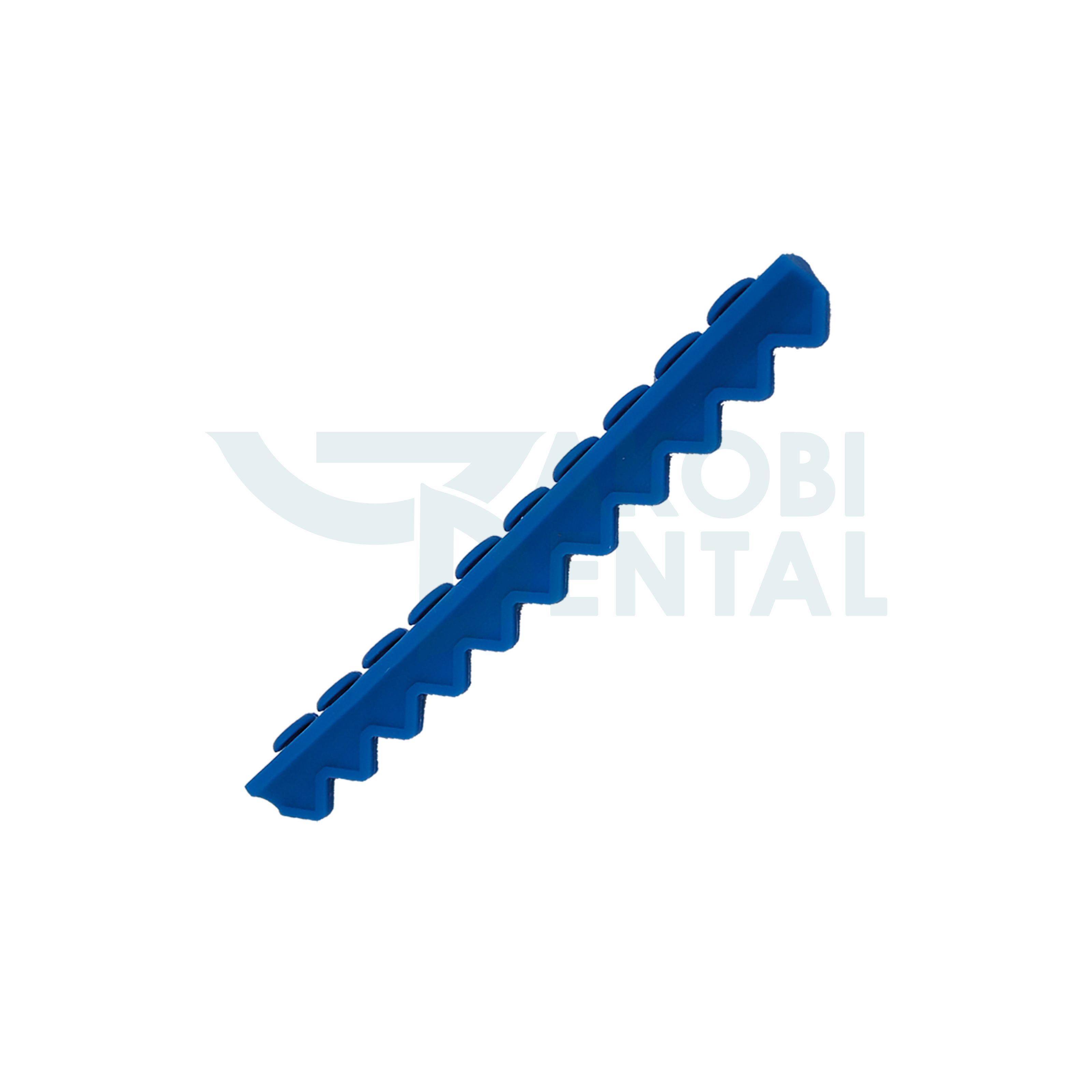 Instrumententräger für 10 Instrumente, blau