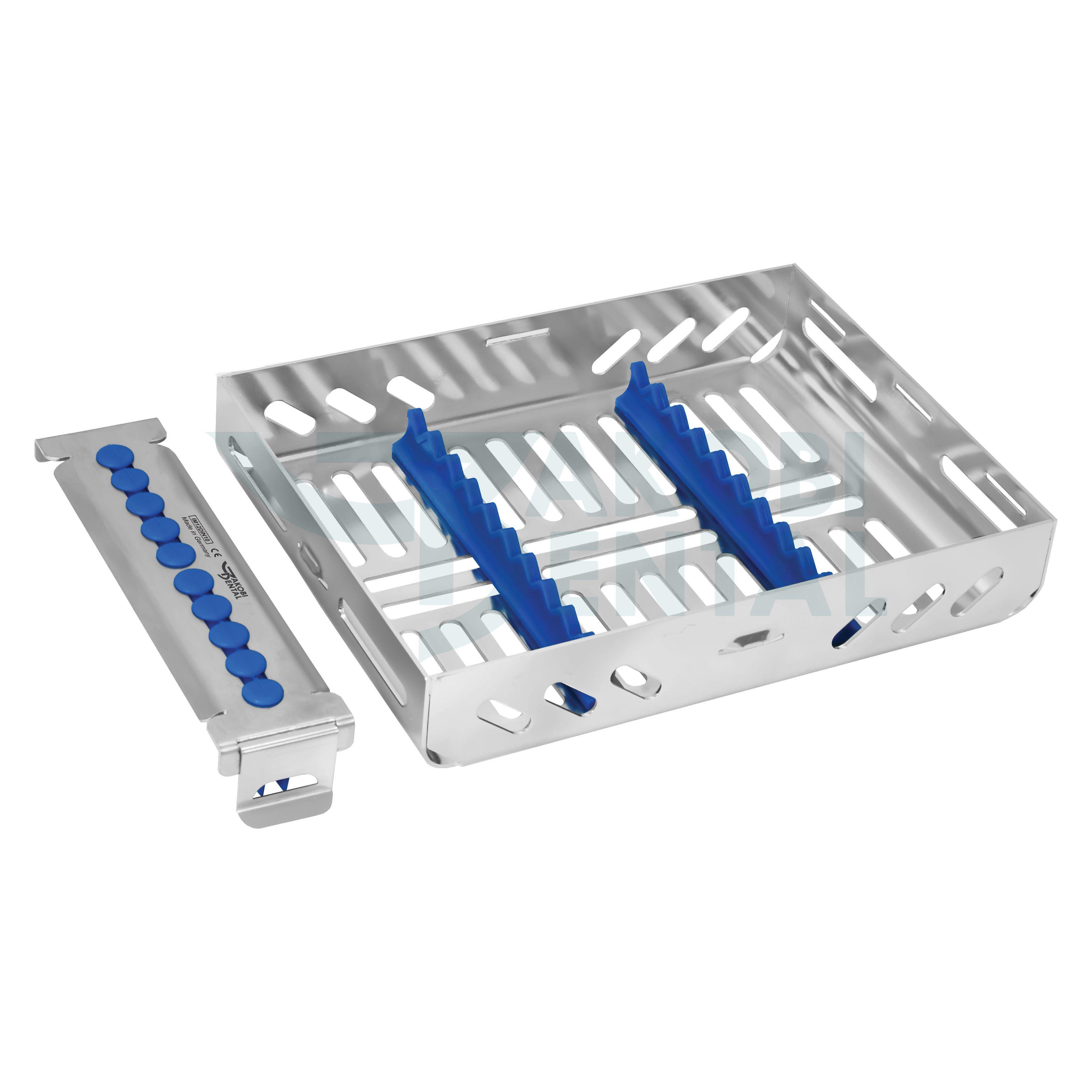 1/2 ECO Kassette / Waschtray für 10 Instr. - Farbe wählbar