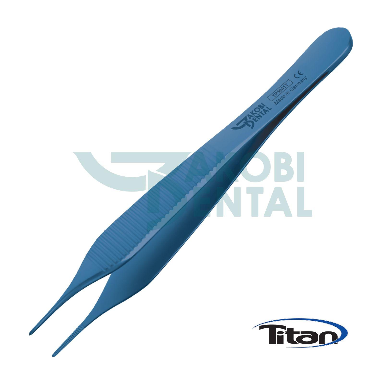 Titan Pinzette Adson, 120mm, anatomisch
