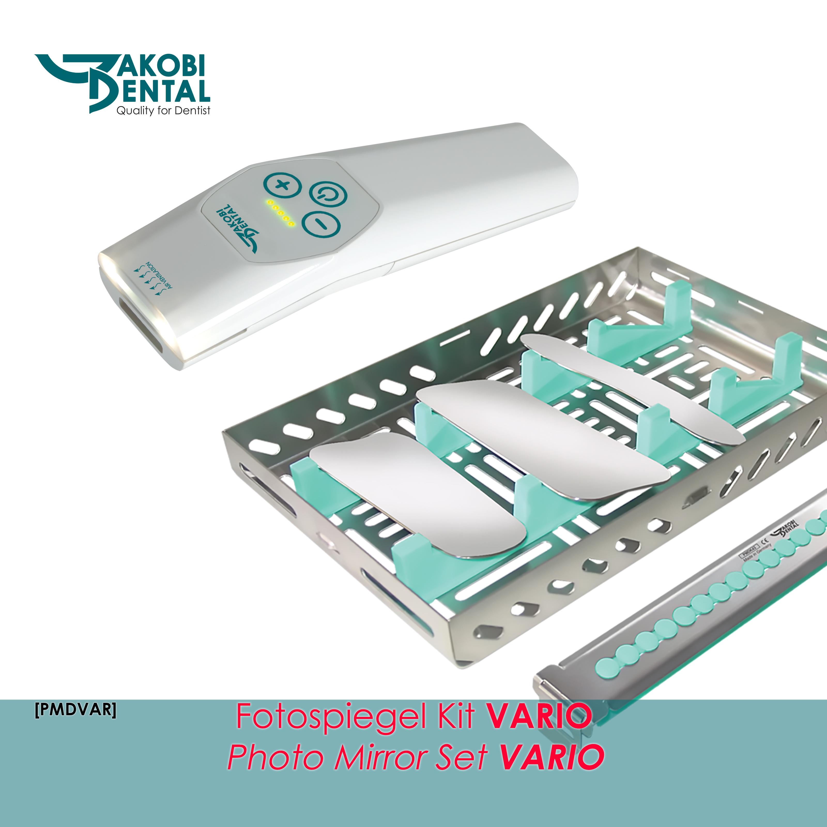 Fotospiegel-Kit VARIO mit 3 Fotospiegel nach Wahl
