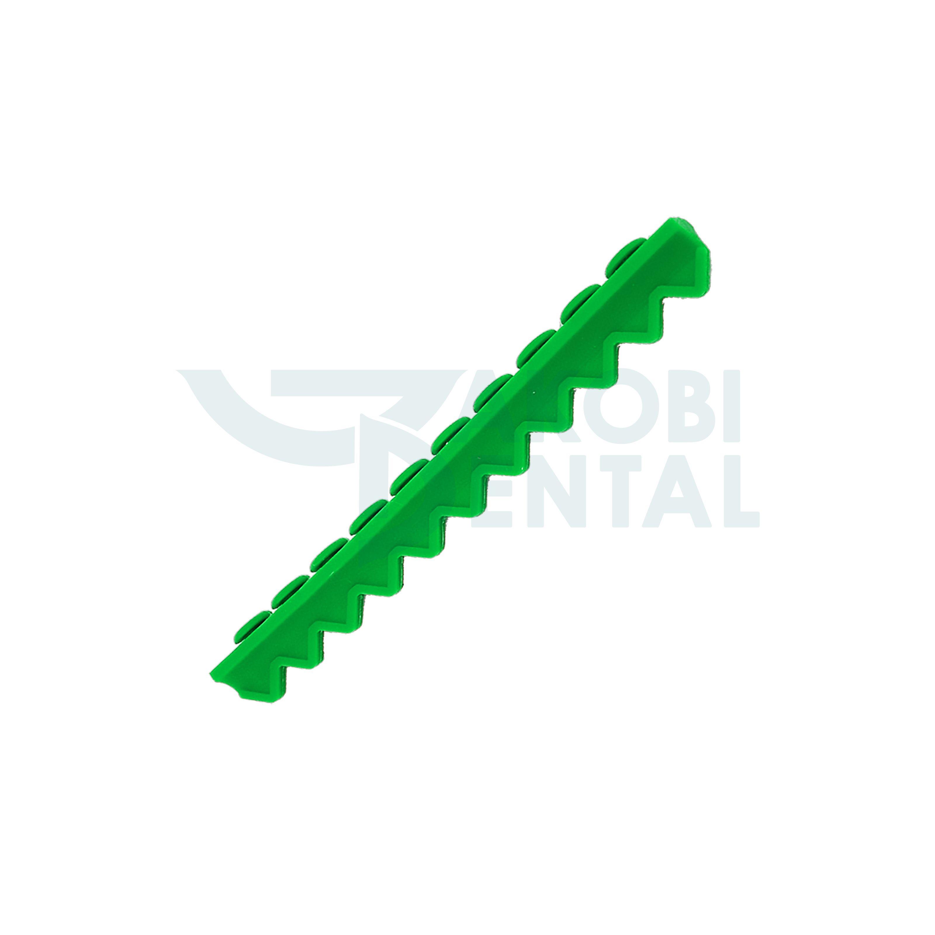 Instrumententräger für 10 Instrumente, grün