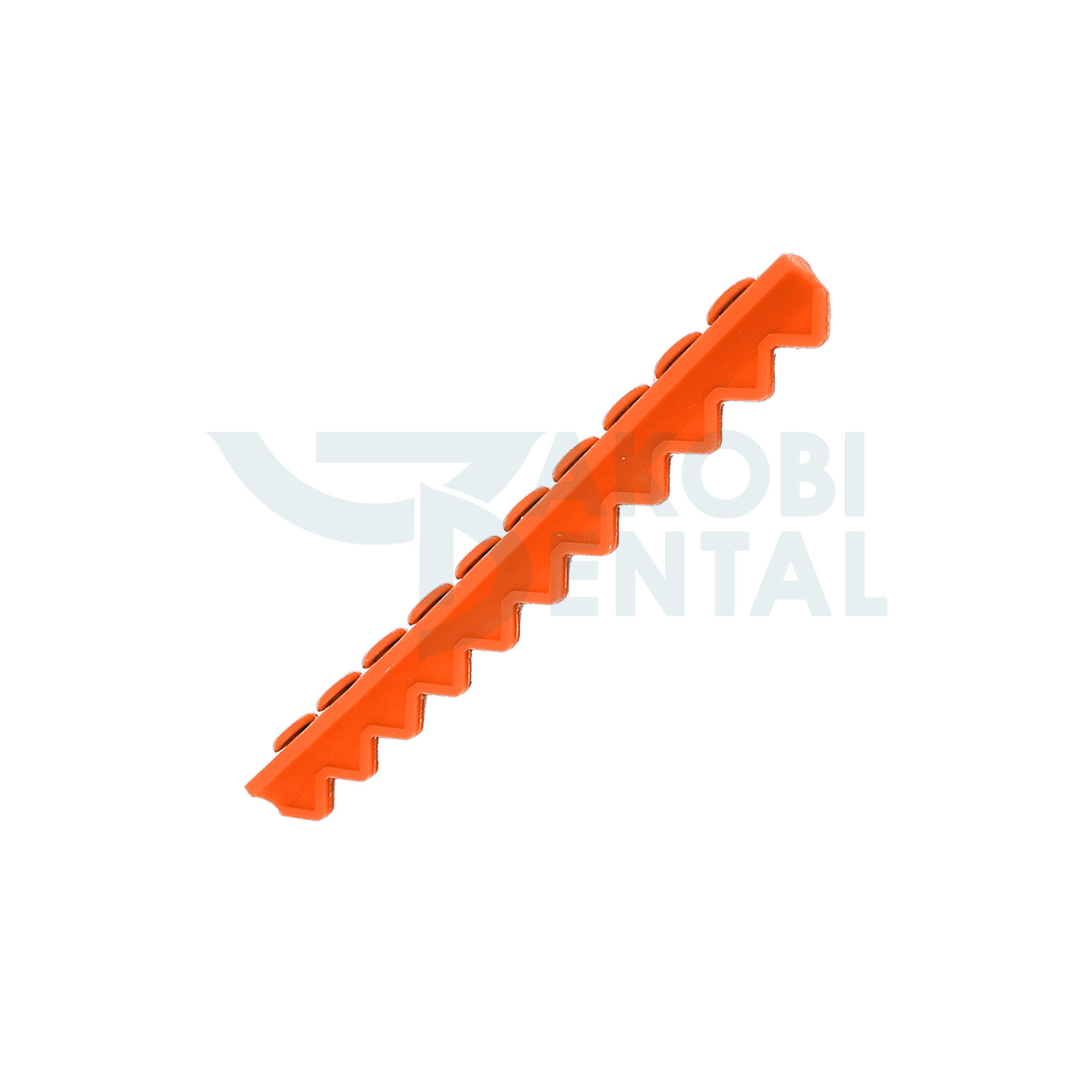 Instrumententräger für 10 Instrumente, orange