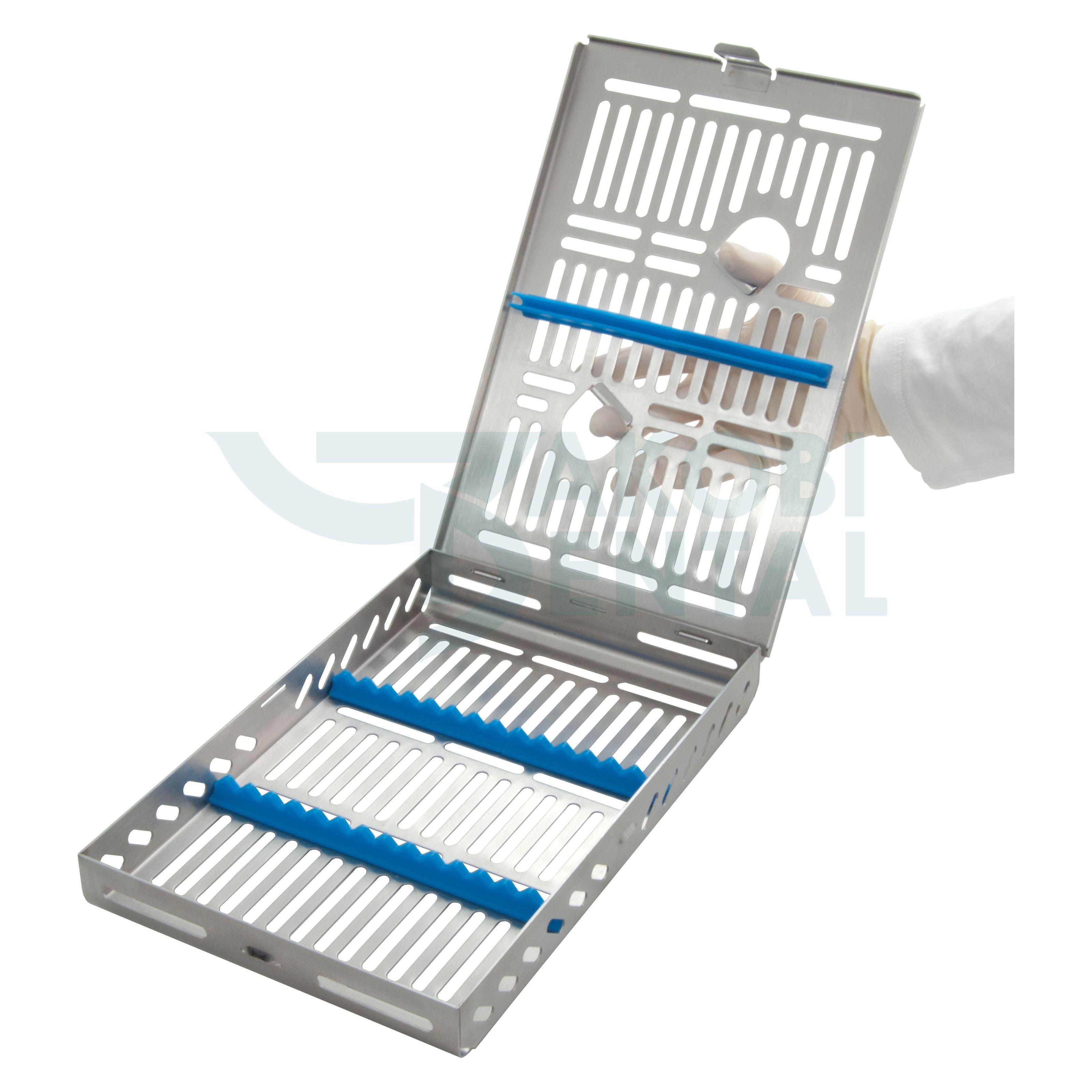 DIN Kassette / Waschtray für 14 Instr. - Farbe wählbar