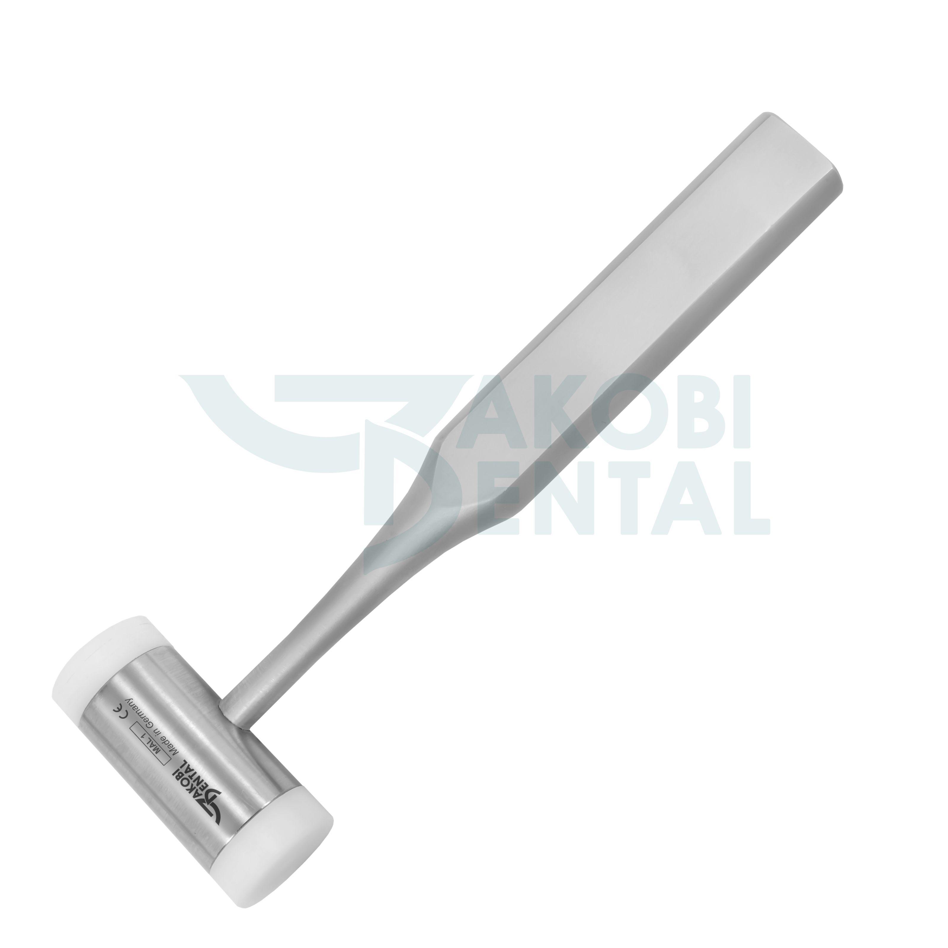 Surgical mallet MAL1, Nylon jaws, 200 gram