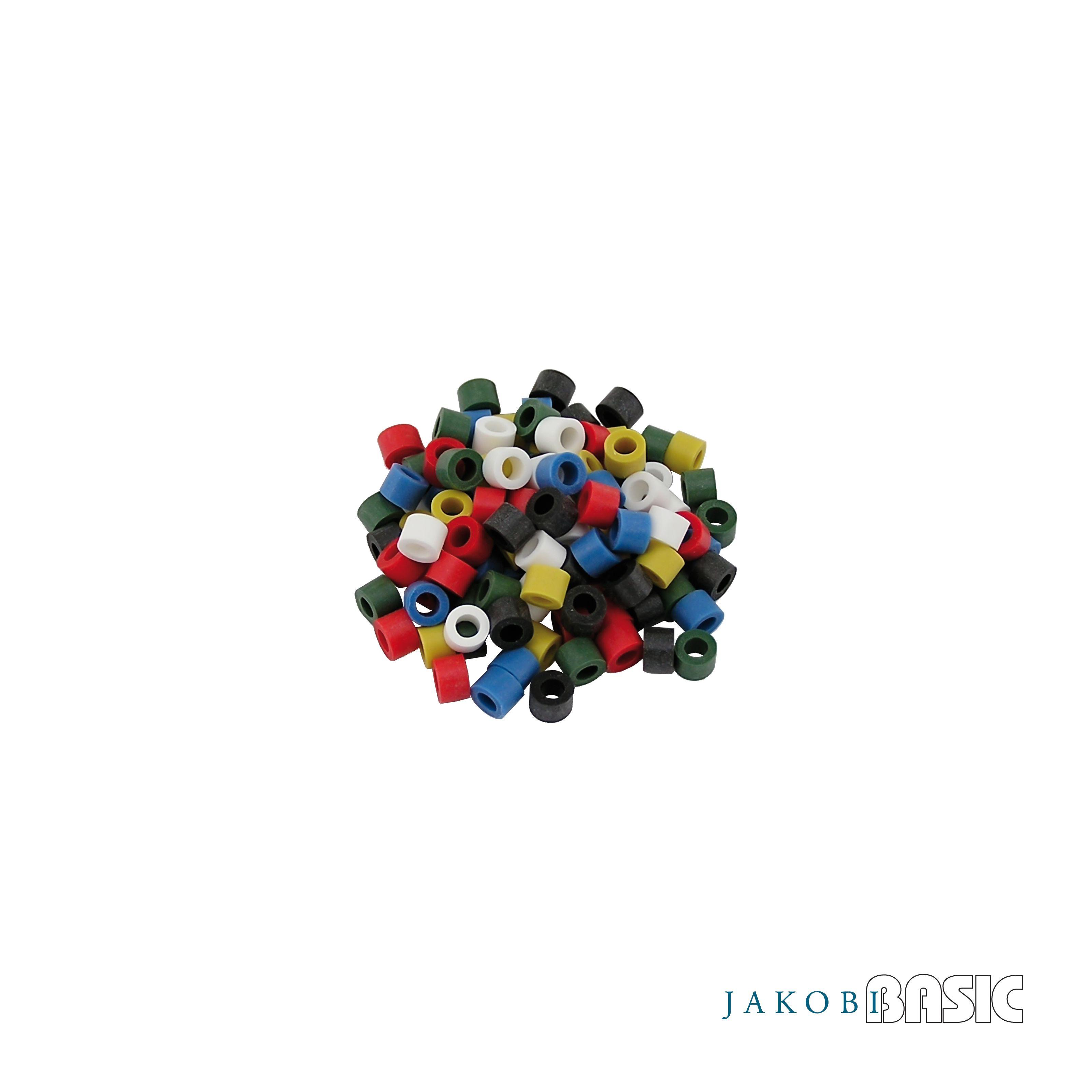 Farbkodierungsringe für JakobiBasic Griff # 4, 50Stk.