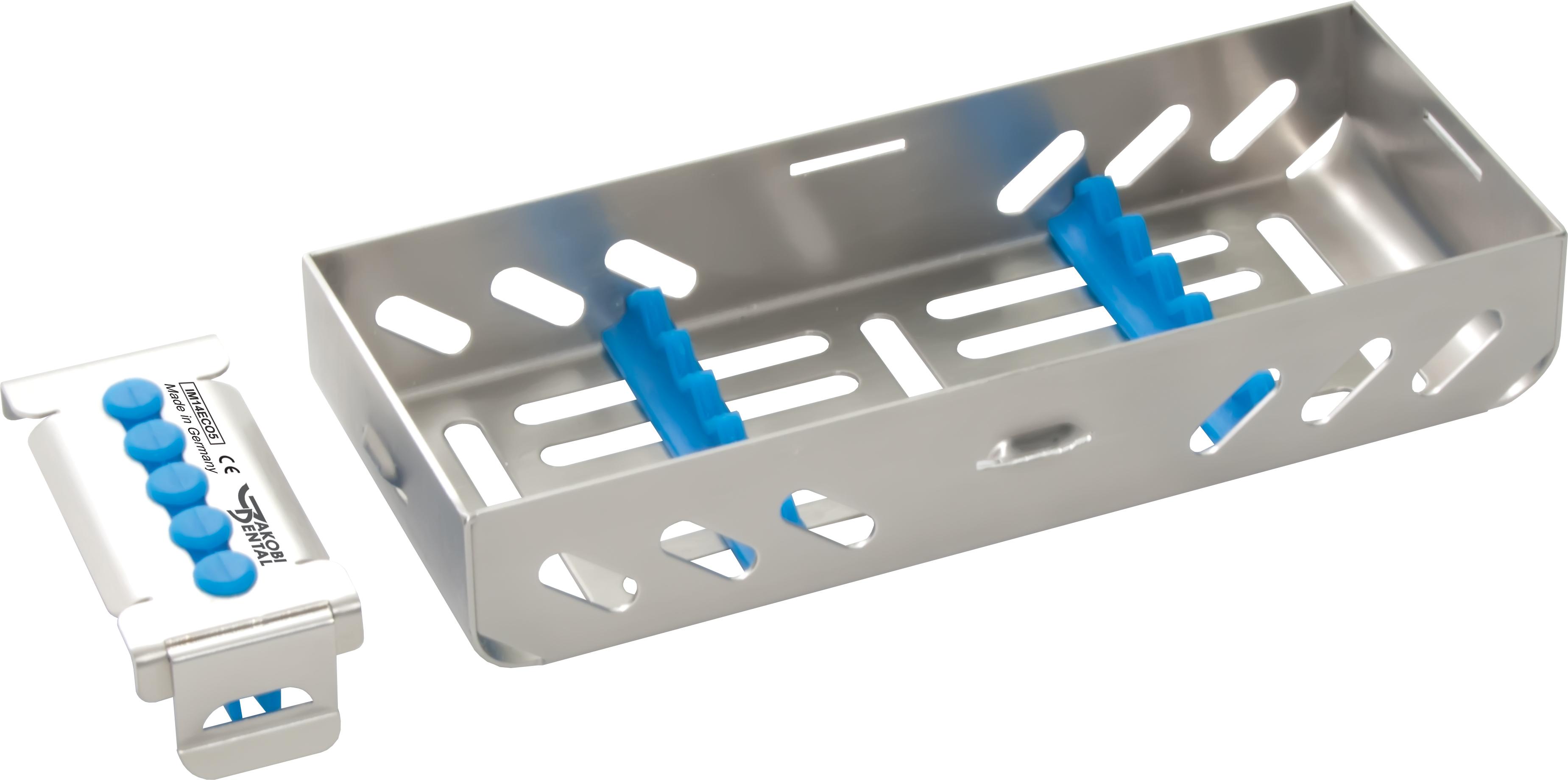 1/4 ECO Kassette / Waschtray für 5 Instr. - Farbe wählbar
