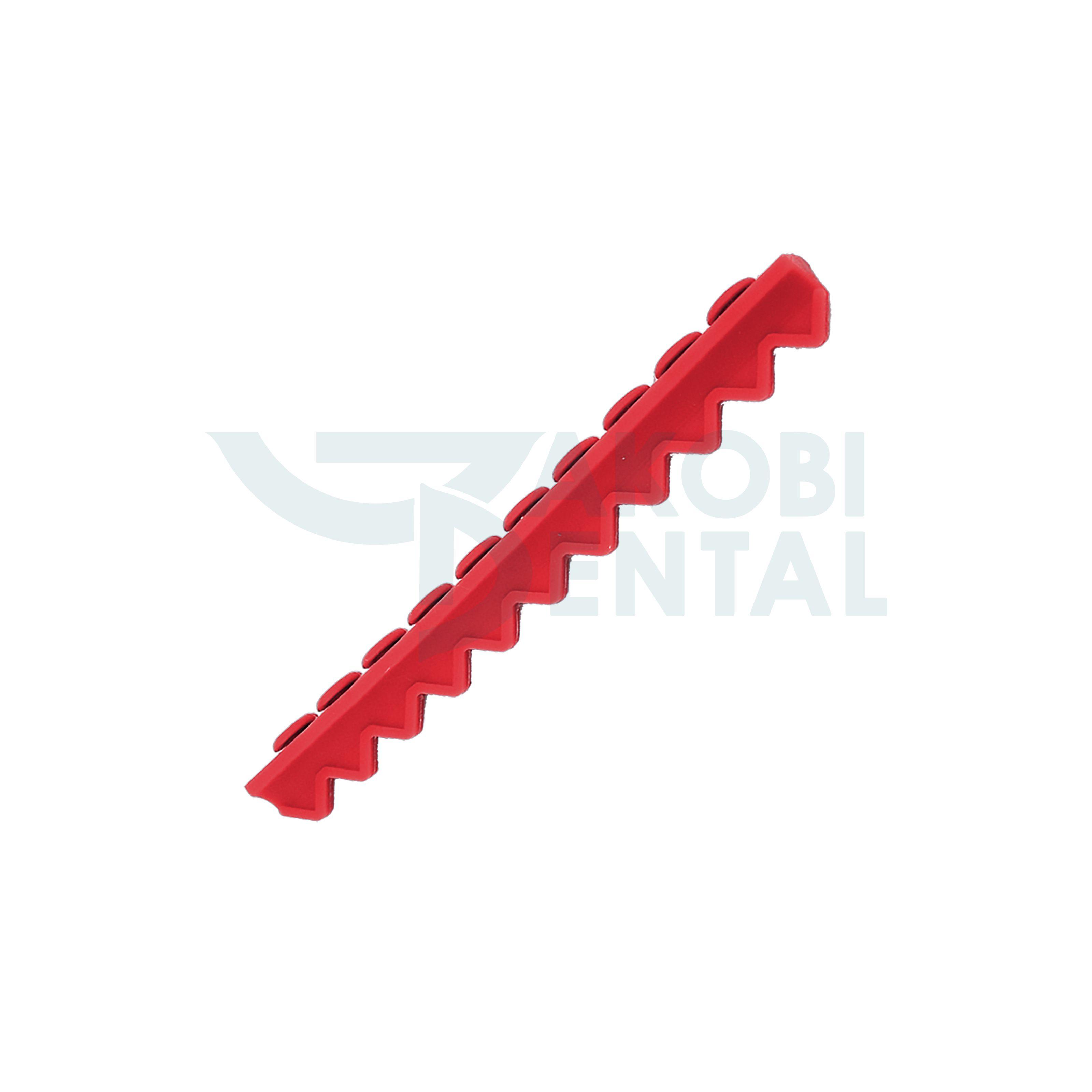 Instrumententräger für 10 Instrumente, rot