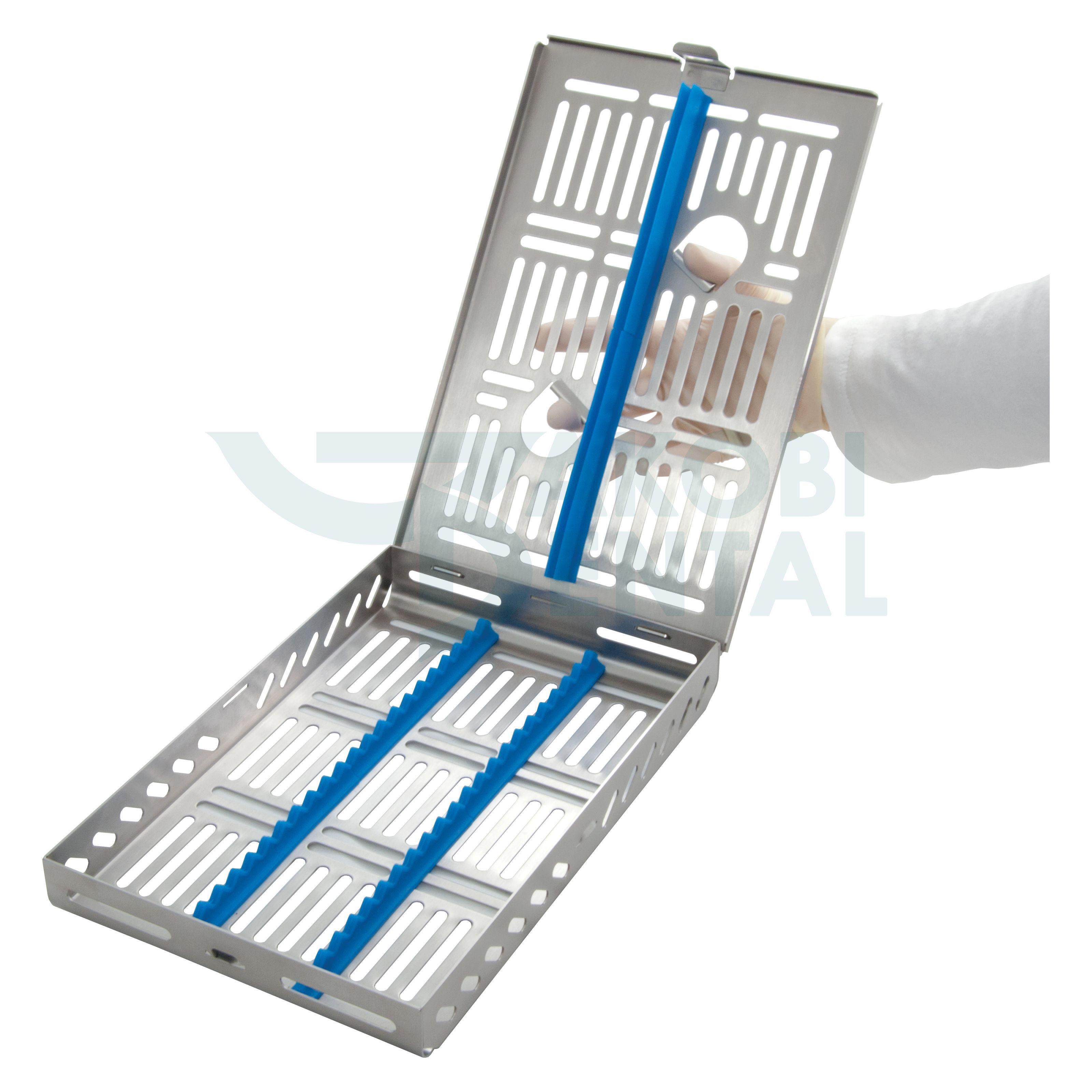 DIN cassette / tray for 21 Instr. - color select